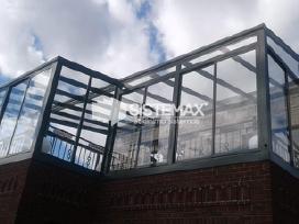 Terasu stiklinimas, stoginės, verandos, turėklai. - nuotraukos Nr. 3