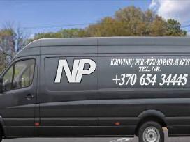 Krovinių Pervežimas / Perkraustymo Paslaugos