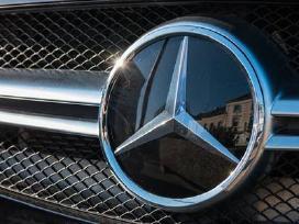 Mercedes Benz diagnostika, elektronikos remontas