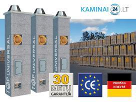Keramikiniai Kaminai Akcija 50-60% pigiau