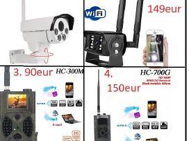 Naujos Ip lauko kameros su Sim Gsm 2g, 3g, 4G