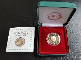 """Belgijos 2 € 2016 m. Proof moneta - """"Dingę vaikai"""""""