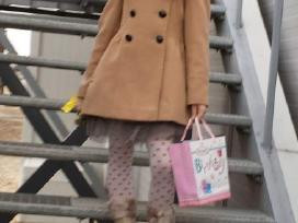 Puošnus paltukas mergaitei