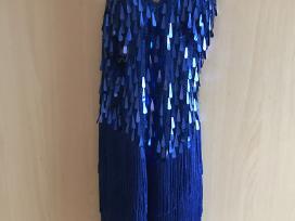 Sportinių šokių / lotynų suknelė su kutais