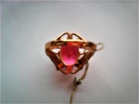 Nauji auksiniai žiedai su akutėmis - nuotraukos Nr. 2