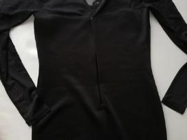 Juoda vakarinė suknelė M dydžio - nuotraukos Nr. 3