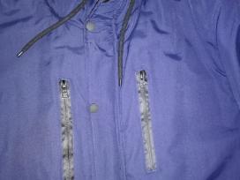 Vyriška tamsiai mėlyna žieminė striukė - nuotraukos Nr. 3