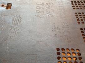 1946 m lemp. rad Rigat689 galinė sien. ir skalė