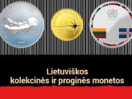 Lietuvos Monetos, Pigiai, Daug. Lt Banknotai.