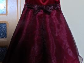 Bordo progine suknele - nuotraukos Nr. 2