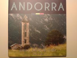 Andoros euro monetų rinkiniai