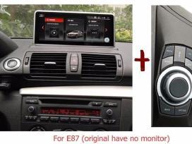 Bmw 1 seriją E81 E82 E87 E88 Android multimedija