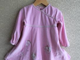 George rausva švelni suknelė 80-86cm
