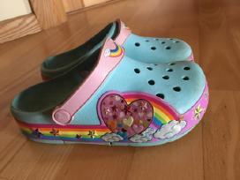 Vasarinės klumpės Crocs Lights Rainbow C13!