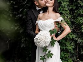 Išskirtinio grožio vestuvinė suknelė
