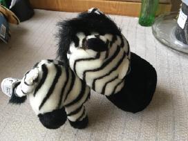 Zebras minkstas zaislas - nuotraukos Nr. 2