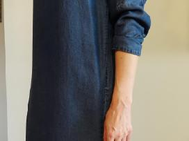 Tik 15 eur ! stilinga džinsinė Zara suknelė - nuotraukos Nr. 3