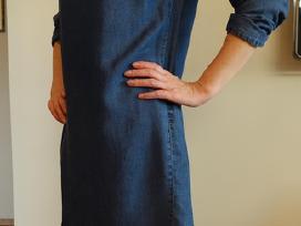 Tik 15 eur ! stilinga džinsinė Zara suknelė - nuotraukos Nr. 4