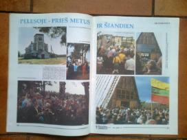 """Baltijos kelias """"Kataliku pasaulyje"""" 1989 metai - nuotraukos Nr. 4"""