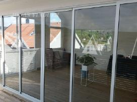 Žiemos sodo, terasos, lodžijų, balkonų stiklinimas