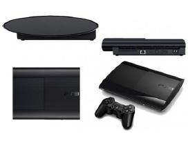 Sony PS3 super slim 500gb + 2 pultai, žaidimai - nuotraukos Nr. 2
