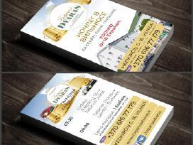 Vizitinės kortelės, interneto tinklapių kūrimas - nuotraukos Nr. 3