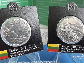 1,50 Euro moneta, skirta stintų žvejybai viliojant