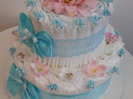 Pampersų tortas - nuotraukos Nr. 2