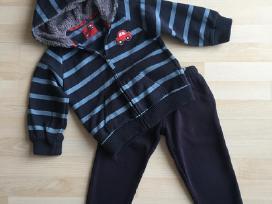 Šiltas džemperis ir pašiltintos kelnės 4-5m 110cm