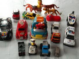 Įvairūs vaikiški žaislai, žurnalai vaikams