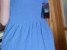 Mėlyna lengva ilga suknelė - nuotraukos Nr. 3