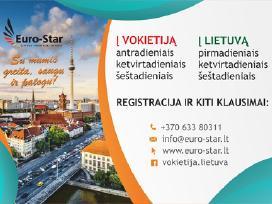 Reguliariai vežame į Vokietiją ir į Lietuvą