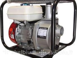 Benzininis vandens siurblys motopompa - nuotraukos Nr. 4