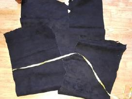 Juodos odos (zomša) gabalai