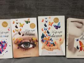 """4 knygos """"Kaip tapti dama"""""""