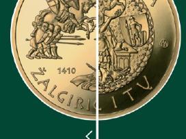 Perku auksin moneta Valdovu rumai auksas perku - nuotraukos Nr. 3