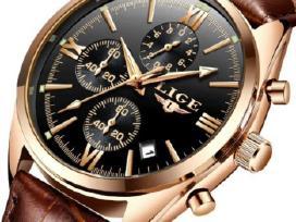 Laikrodis Lige, kvarcinis, atsparus, vyriškas