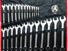 Kombinuotų raktų rinkinys 25 vnt. 6-32mm