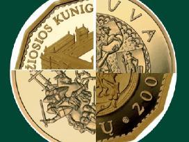 Perku auksin moneta Valdovu rumai auksas perku