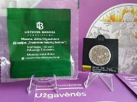 1,50 Euro monetos, skirtos Užgavėnėms