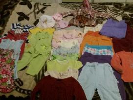 Parduodami drabužiai mergaitei nuo 1 iki 2 urmu