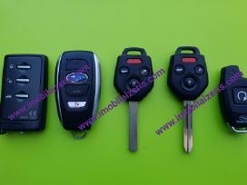 Subaru raktai Subaru raktas Usa ir Eu automobiliam