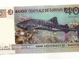 Dzibutis 40 francs 2017 Pnew