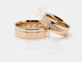 Vestuviniai žiedai, Sužadėtuvių žiedai, Juvelyras - nuotraukos Nr. 3