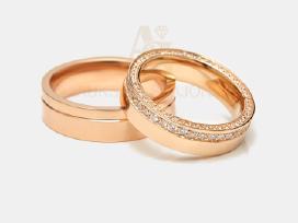 Vestuviniai žiedai, Sužadėtuvių žiedai, Juvelyras - nuotraukos Nr. 4