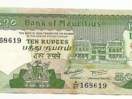 Mauritius 10 rupees 1985 P35