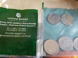 1,50 Eur moneta, skirta Joninėms (Rasos šventei) - nuotraukos Nr. 4