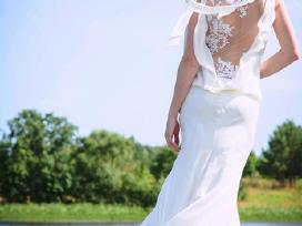 Vamp mados namu vestuvine suknele - nuotraukos Nr. 3