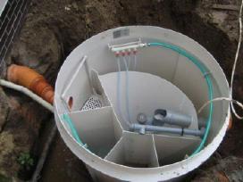 Valymo įrenginių montavimas,žemės kasimo lyginim