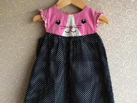 H&m suknelė - kačiukas 86cm 12-18m